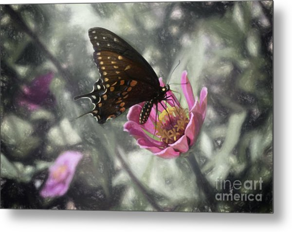 Swallowtail In A Fairytale Metal Print