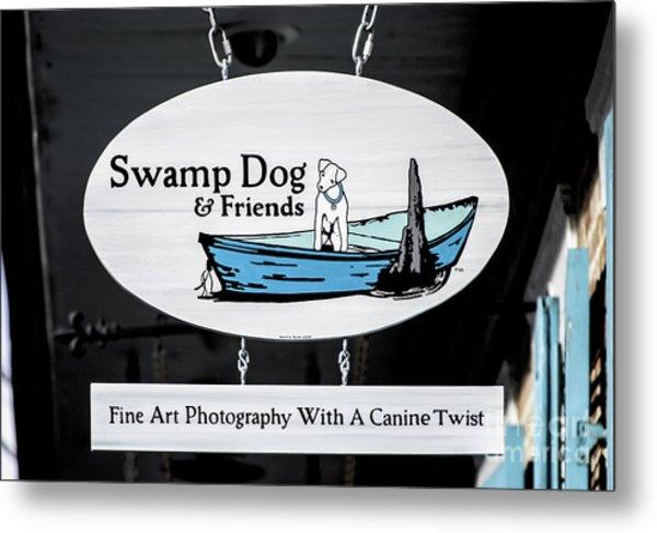Swamp Dog And Friends Metal Print