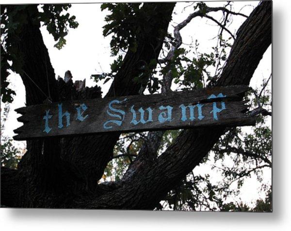 Swamp Oak Metal Print by The Stone Age
