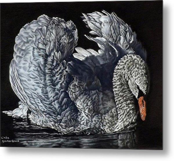 Swan #2 Metal Print