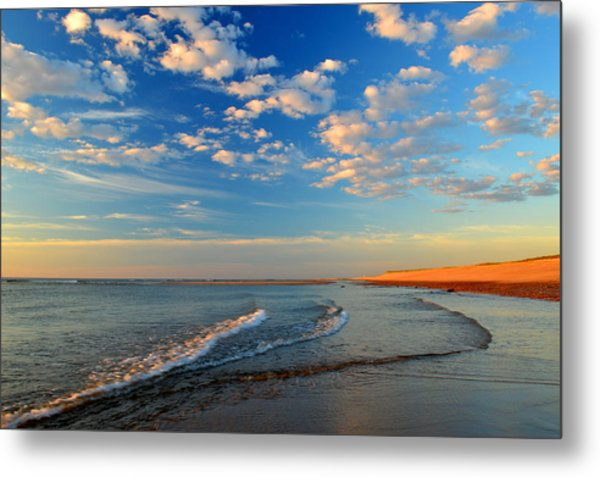 Sweeping Ocean View Metal Print