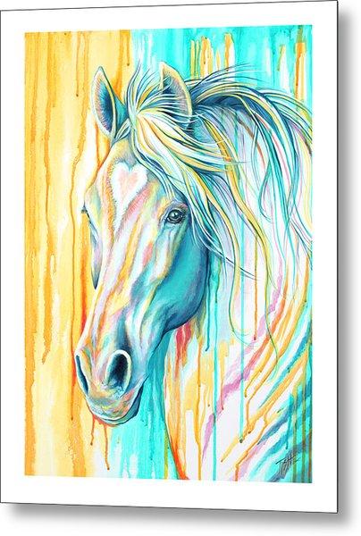 Sweet Heart Horse Metal Print