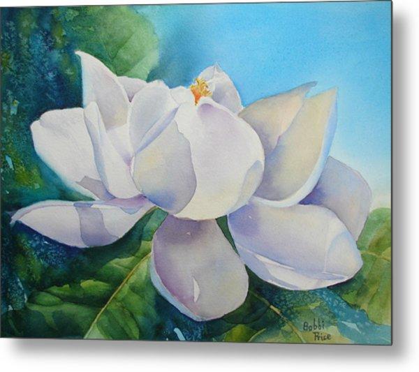 Sweet Magnolia Metal Print by Bobbi Price