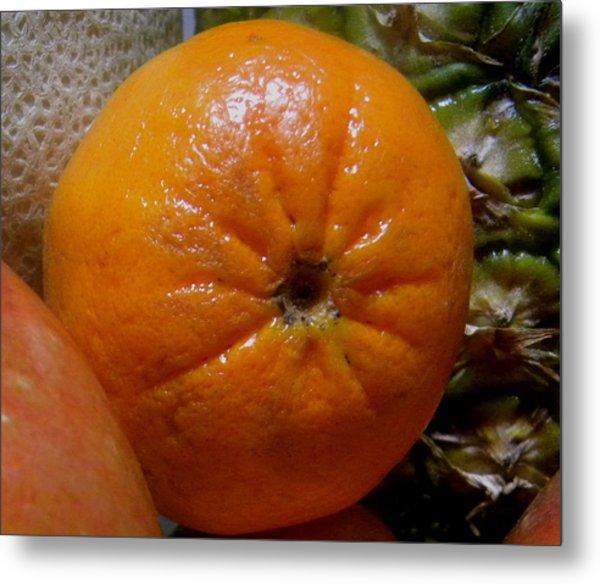 Sweet Mandarine Metal Print by Fanny Diaz