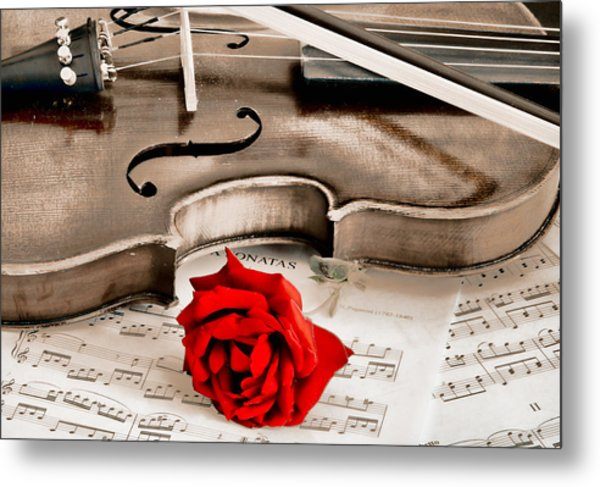 Sweet Music Metal Print