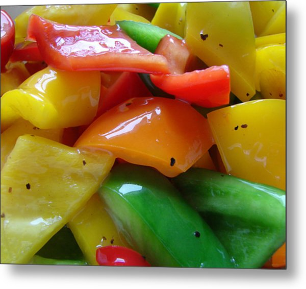 Sweet Peppers Metal Print