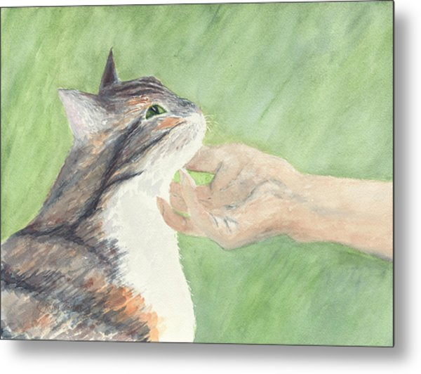 Metal Print featuring the painting Sweet Spot by Kathryn Riley Parker