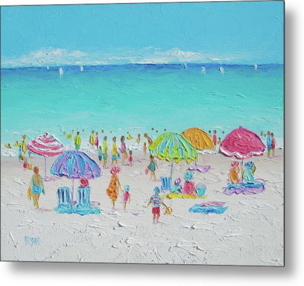 Sweet Sweet Summer Metal Print