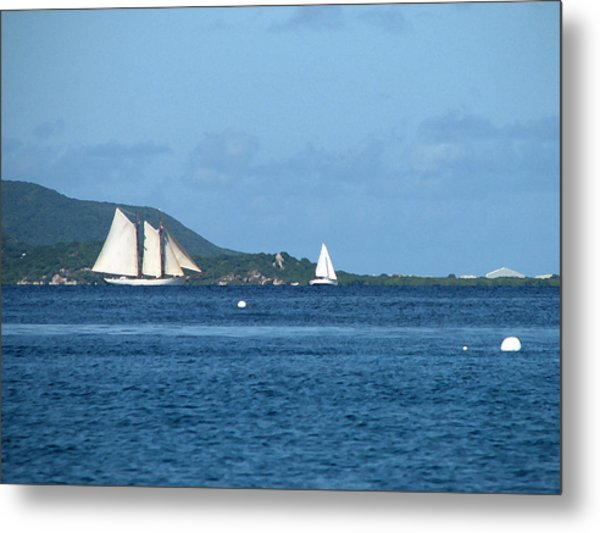 Swept Away Metal Print by Ginger Howland