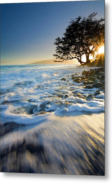 Swept Out To Sea Metal Print