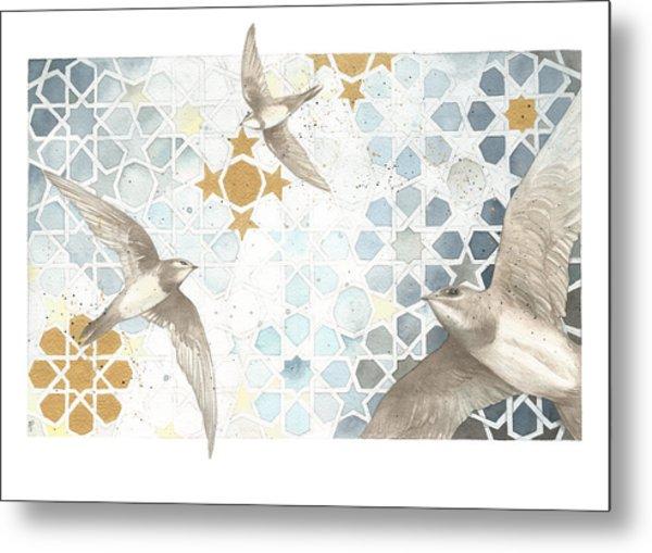 Swifts Of Cihangir Metal Print