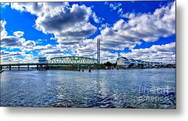 Swing Bridge Heaven Metal Print