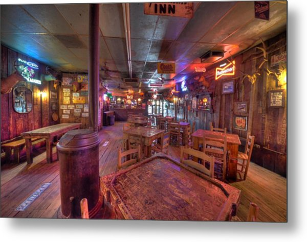 Swinging Doors At The Dixie Chicken Metal Print
