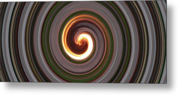 Swirl Of Fire Metal Print