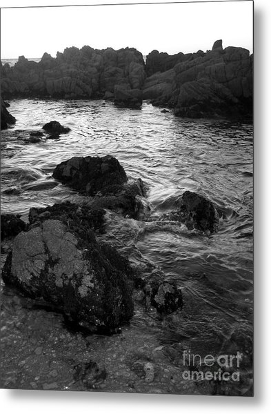 Swirling Tide Metal Print