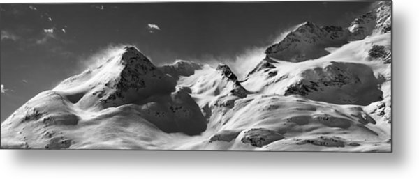 Metal Print featuring the photograph Swiss Alps by Marc Huebner