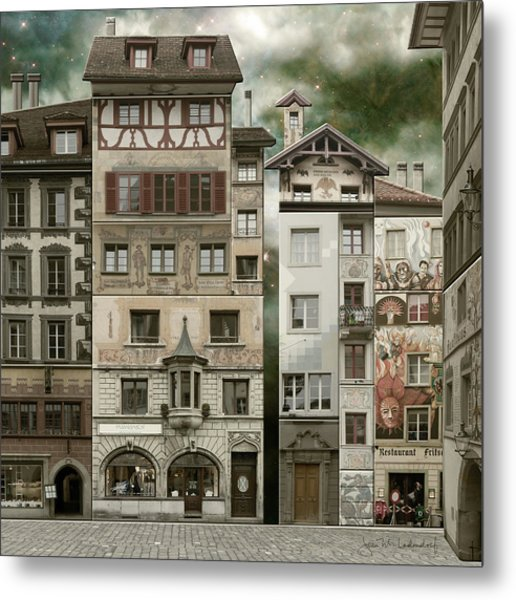 Swiss Reconstruction Metal Print