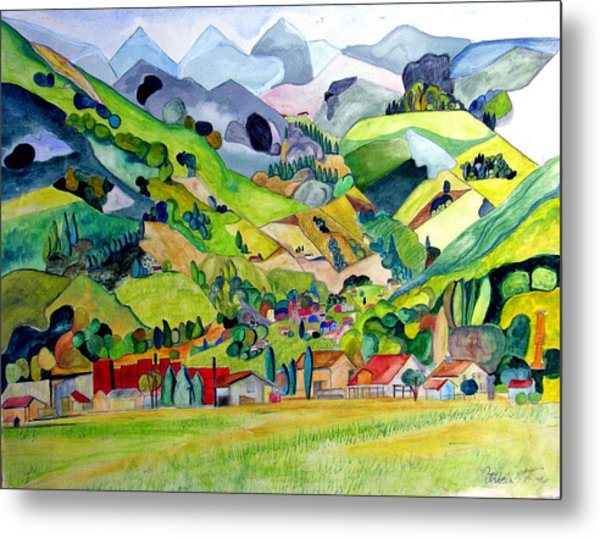 Switzerland Metal Print by Patricia Arroyo