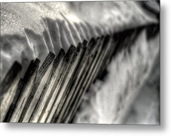 Holding Strong Metal Print