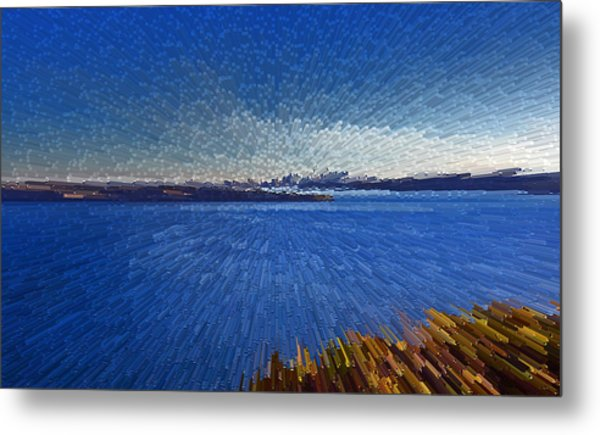 Sydney From North Head Metal Print