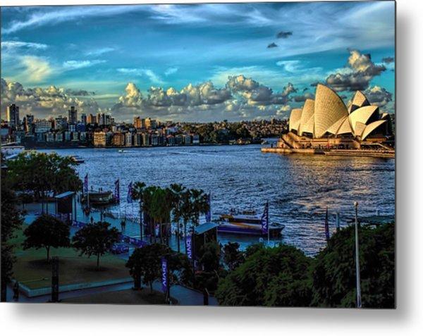 Sydney Harbor And Opera House Metal Print