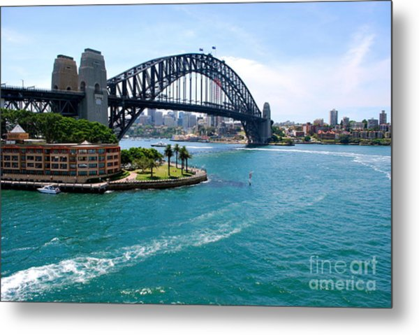 Sydney Harbor Bridge Metal Print