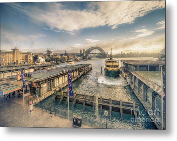Sydney Harbor I Metal Print