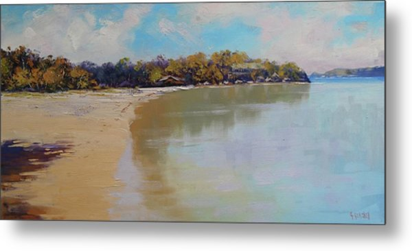 Sydney Harbour Beach Metal Print