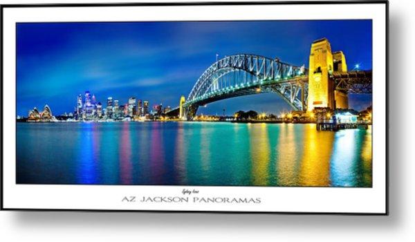 Sydney Icons Poster Print Metal Print