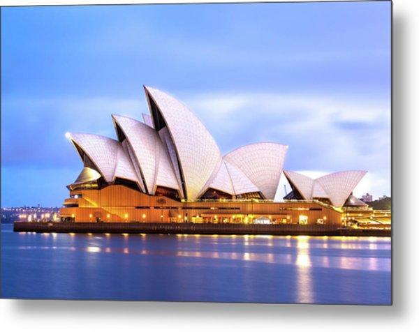 Sydney Opera House At Dawn Metal Print