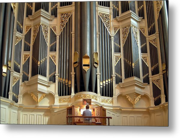 Sydney Town Hall Organ Metal Print