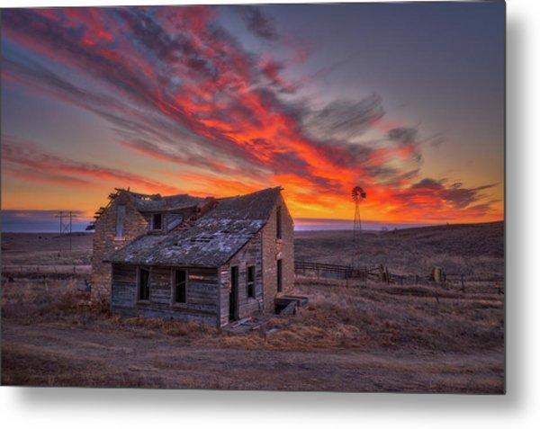 Metal Print featuring the photograph Sylvan Grove Sunrise by Darren White