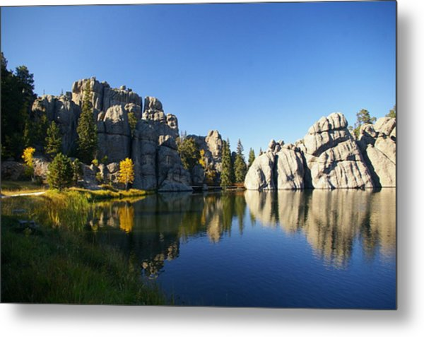 Sylvan Lake, Custer South Dakota Metal Print