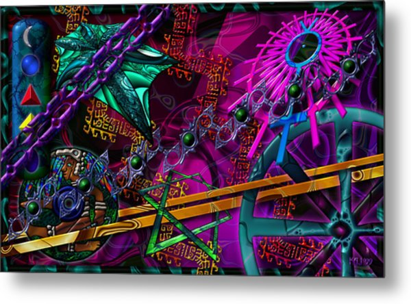 Symagery 21 Metal Print