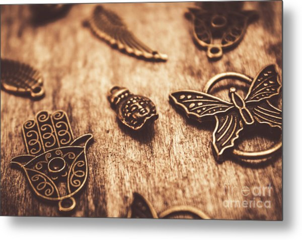 Symbols Of Zen Metal Print