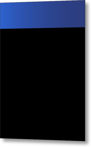 Symphony In Blue - Movement 3 - 2 Metal Print