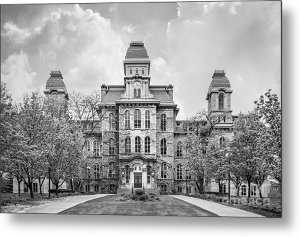 Syracuse University Hall Of Languages Metal Print by University Icons