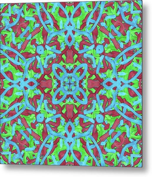 T H U - Pattern Metal Print