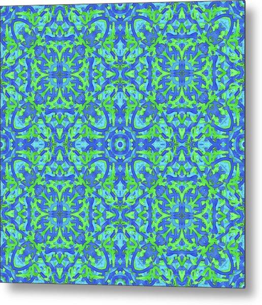 T U E - Multi Pattern Metal Print