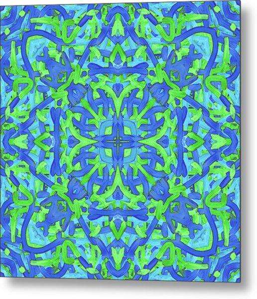 T U E - Pattern Metal Print