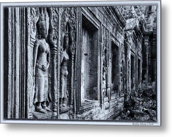 Ta Phrom Cambodia Metal Print