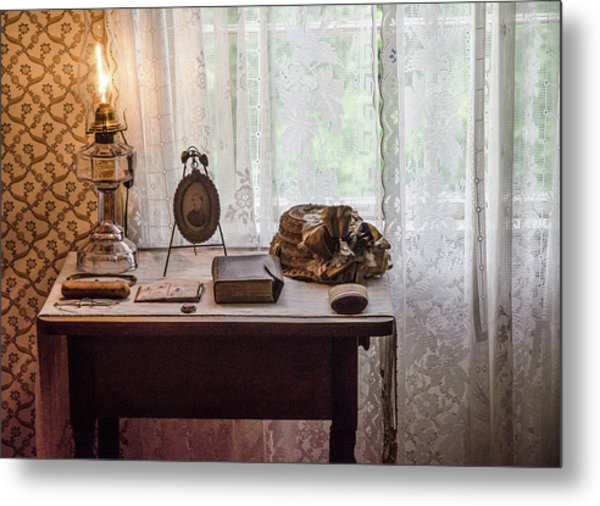 Metal Print featuring the photograph Table, Anne Of Green Gables by Rob Huntley