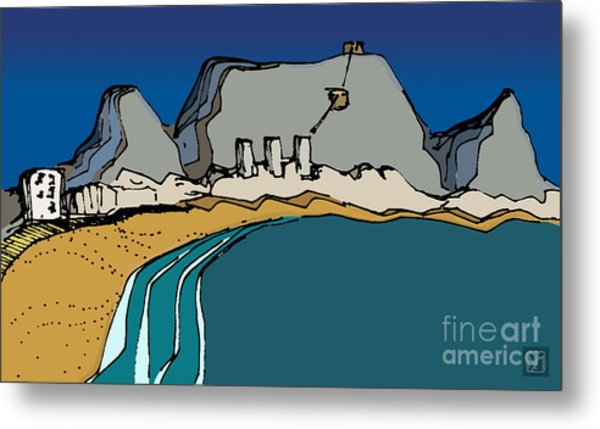 Table Mountain Metal Print