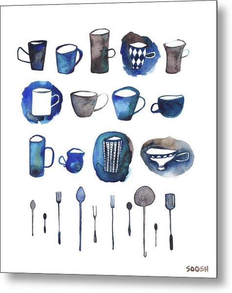 Tablewear Metal Print