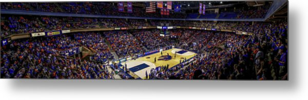 Taco Bell Arena And Boise State Basketball Metal Print by Lost River Photography