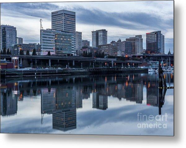 Tacoma Waterfront,washington Metal Print