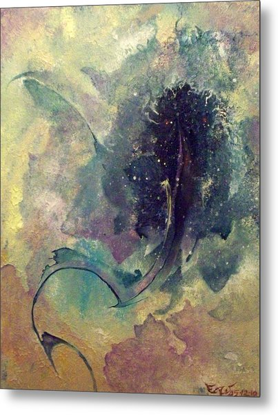 Tadpole Metal Print by Fred Wellner