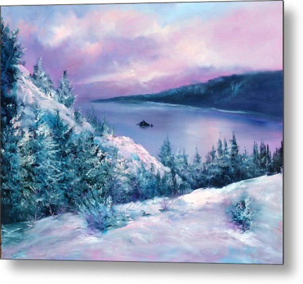 Tahoe Metal Print by Sally Seago