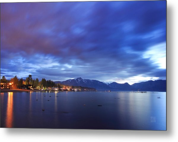 Tahoe Twilight Metal Print