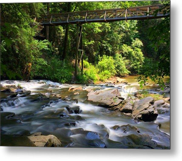 Tails Creek Metal Print